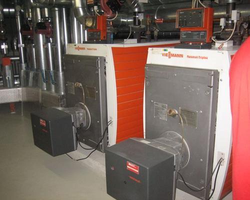 Stahlkessel-Anlage