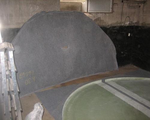 Auslegen des Tankbodens