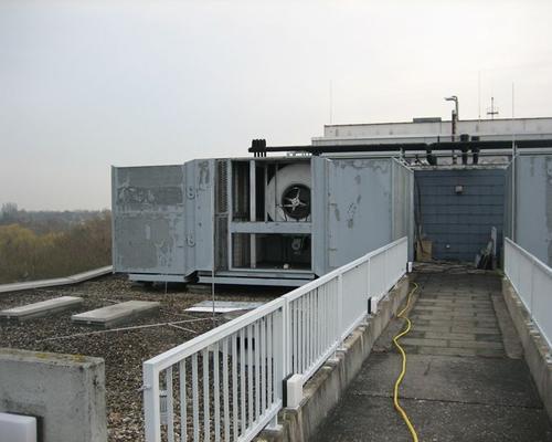 Filteranlagen auf dem Dach